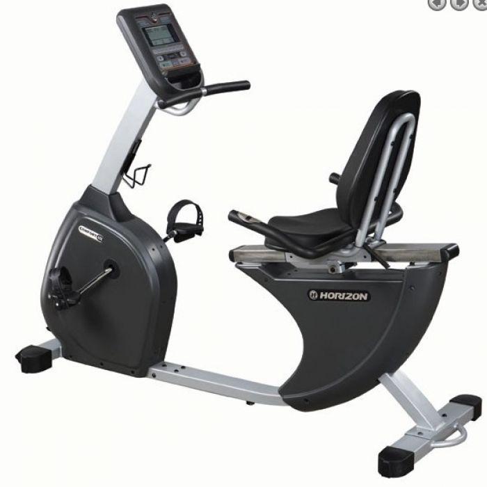 Home Gym Bekas: Cyclette Orizzontale Comfort 408 Horizon