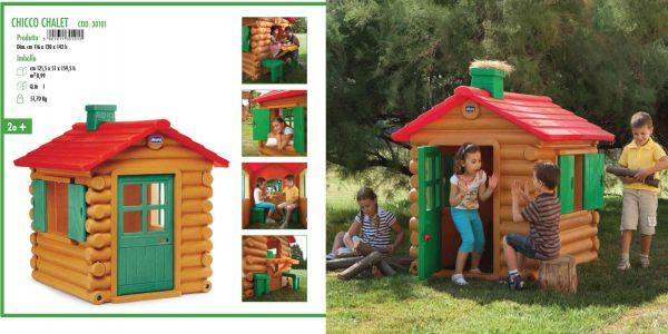 Casette per bambini da giardino chicco come costruire una for Casetta chicco villa