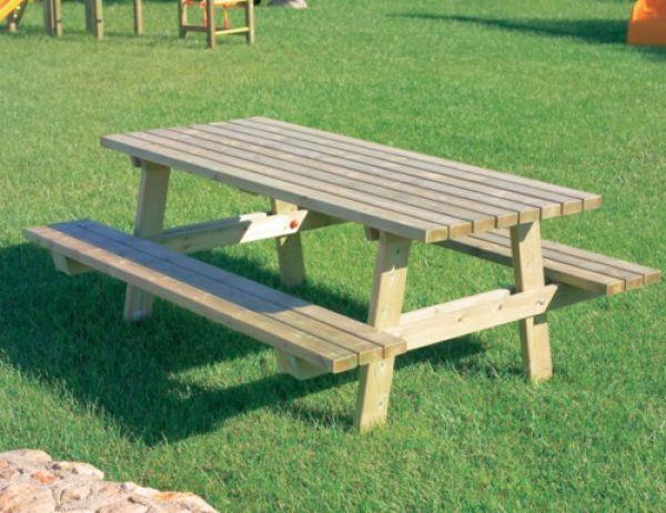 ... Park con due panche sospese ideale per parchi e giardini pubblici Play