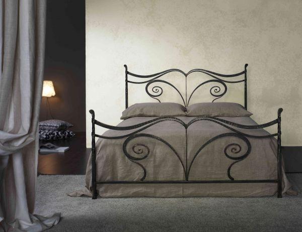 Letto in ferro battuto fedora fedora - Camere da letto in ferro battuto ...
