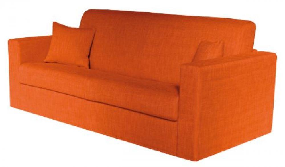 Offerta divano letto trasformabile sisto 120 tessuto for Divani ecopelle economici