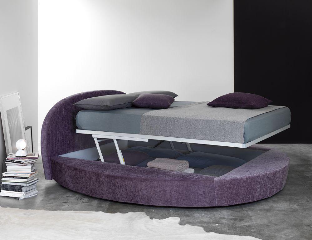 Divano letto rotondo sandy offerta letto rotondo con for Divano tondo aruba