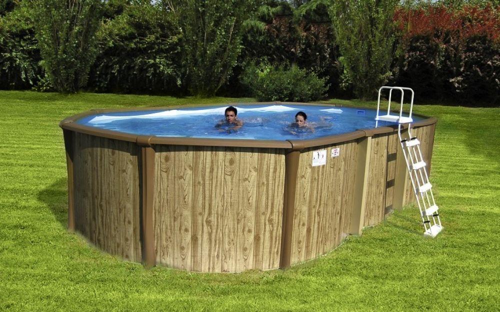 piscina rigida ovale fuori terra antigua kit 650 6 70 x3