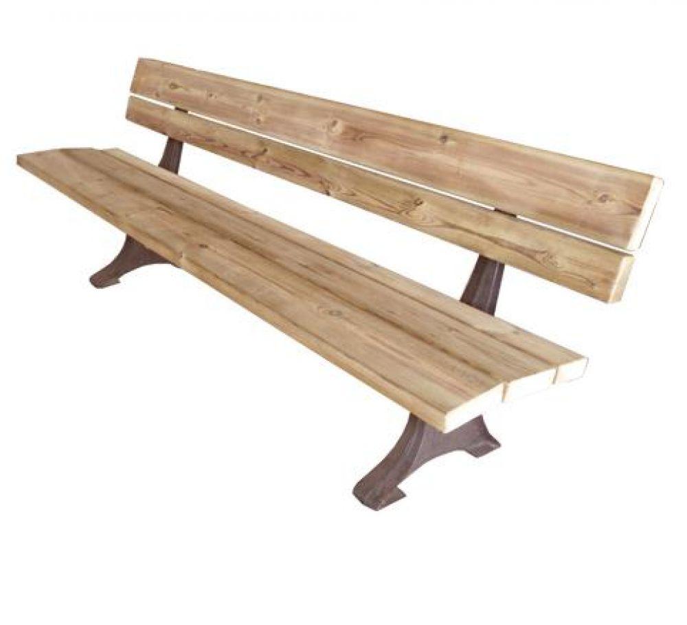 Panchina in legno 190x40 dc - Panchine da interno ...