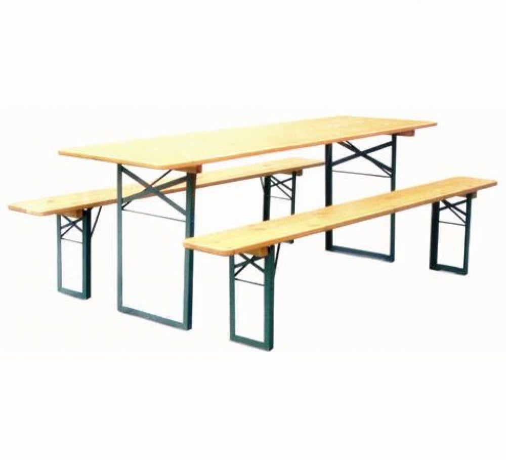 Tavolo e panche pieghevoli dc - Tavoli da birreria 220x80 ...