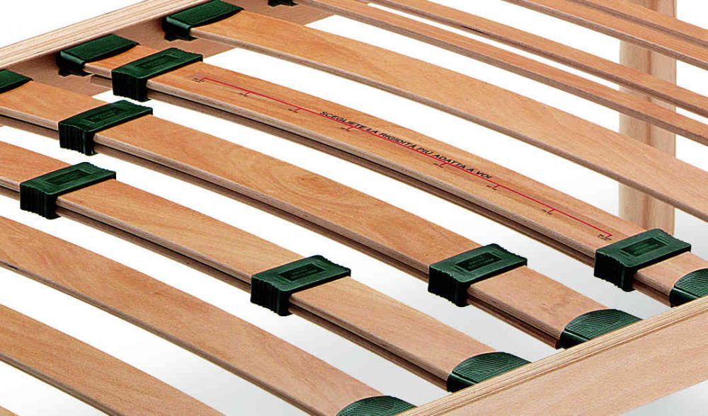 Rete letto in legno fissa ortopedica con doghe regolabili - Rete letto elettrica prezzo ...