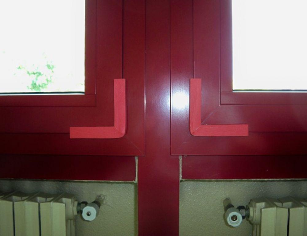 Profilo angolare per spigoli finestre forma ad l mm - Protezione per finestre ...
