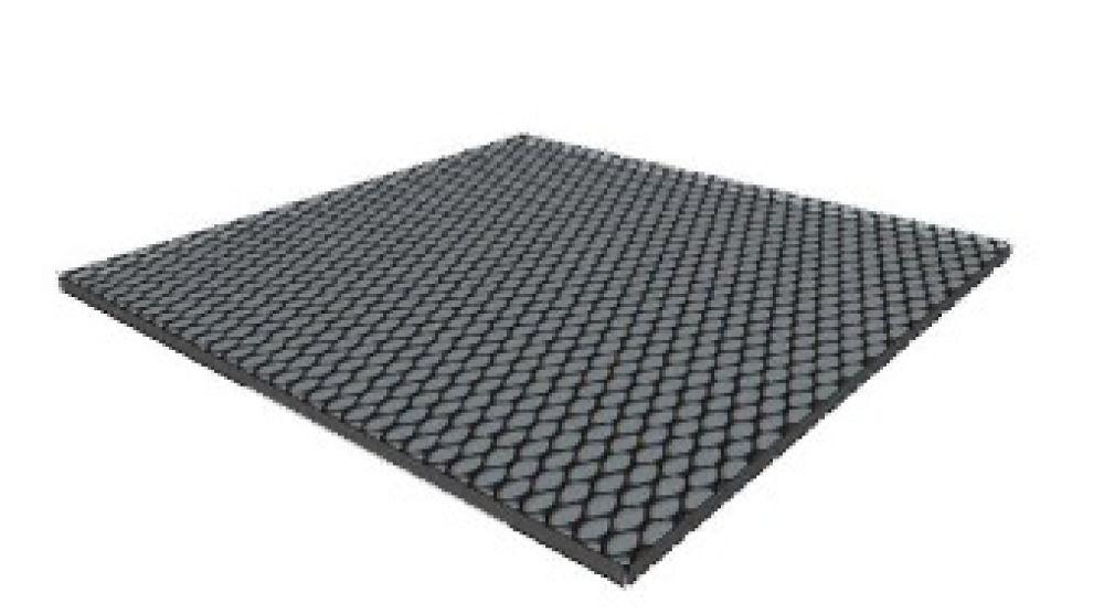 Pavimentazione tappeto in gomma non drenante nero - Tappeto esterno ...