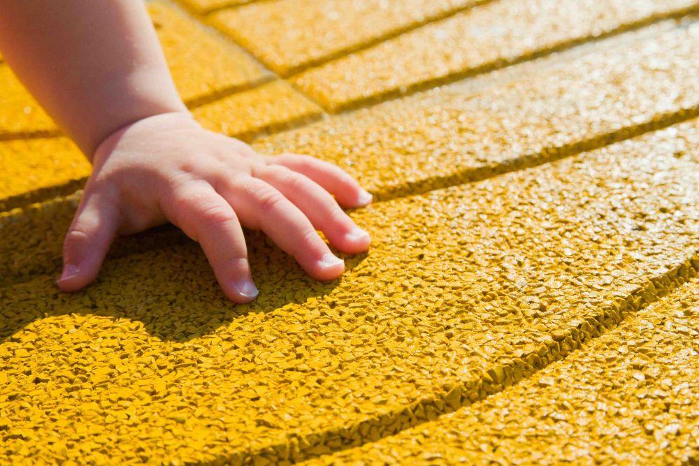 Piastrelle gomma per bambini pavimenti in gomma per bambini
