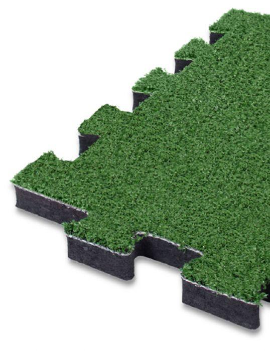Pavimento antitrauma a puzzle 25mm hic 1 69 mt in erba for Articoli per esterno