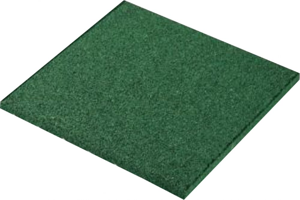 Piastrelle antitrauma verde 50x50 sp 3cm c spinotti hic 1 - Piastrelle in cemento per esterno 50x50 ...