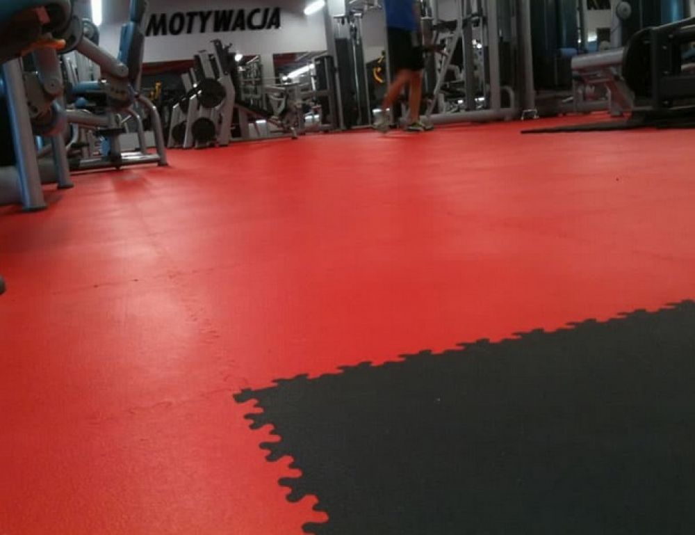 Piastrella Antitrauma Rossa 30 Mm 50x50 Cm Bricoman