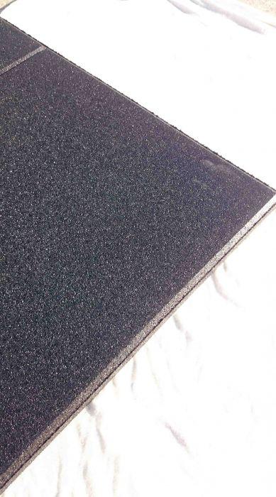 Pavimento antitrauma TFLOOR per Palestra e Crossfit grana fine 100x100x2