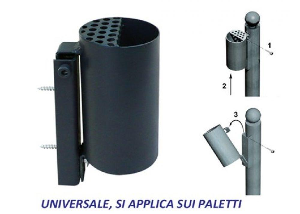 Posacenere paris elegante e funzionale universale per for Posacenere da esterno ikea