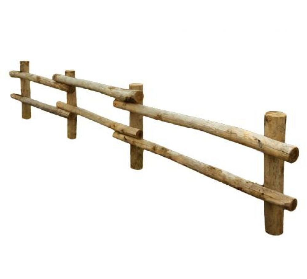 Staccionata in legno di castagno ottima per ambienti - Staccionate in legno per giardini ...