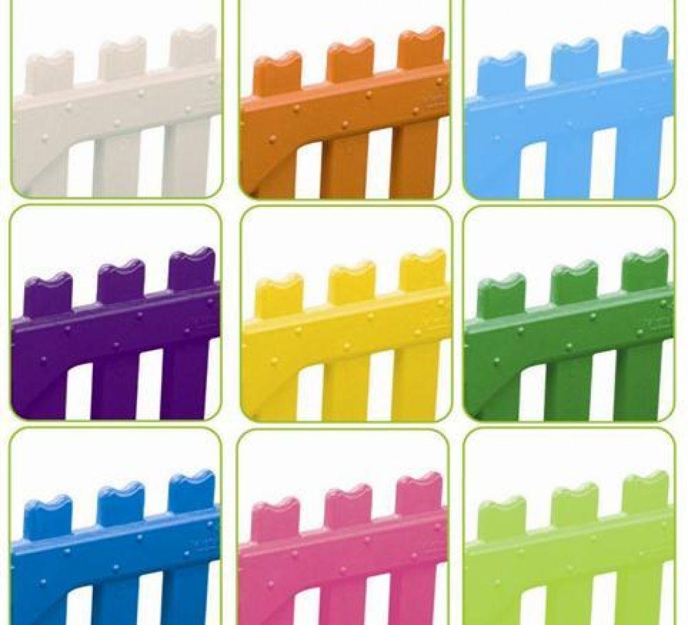 Staccionata In Plastica Giardino.Staccionata Recinzione In Plastica Ideale Per Utilizzo Da Parte