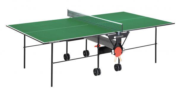 Tavolo ping pong tennis da tavolo training indoor verde garlando - Tavolo ping pong misure regolamentari ...
