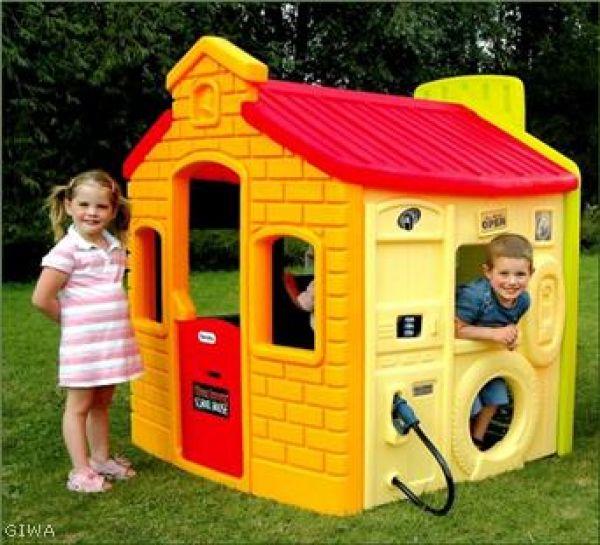 Casetta gioco multi attivita little tikes for Casas de juguete para jardin baratas