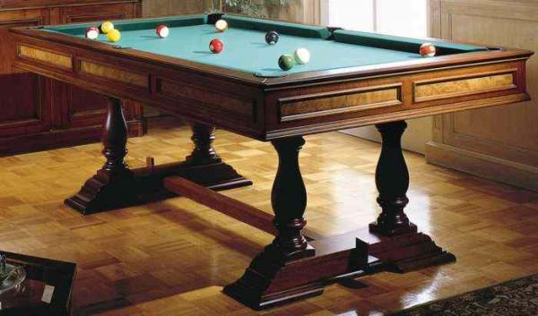 Tavolo da biliardo balmoral con piane di copertura stile antico ndir - Misure tavolo da ping pong professionale ...