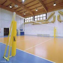 Impianto volley trasportabile + rete e protezioni