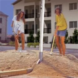 Impianto beach volley - tennis city + rete