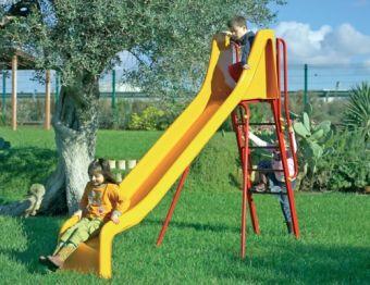 Scivolo Bill con scivolo e scala di risalita ideale per parchi pubblici
