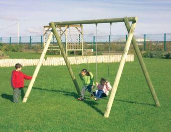 Altalena Niagara 2 posti ideale per parchi e giardini pubblici