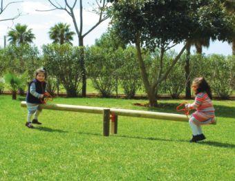 Bilico David - trave oscillante a due posti ideale per giardini pubblici