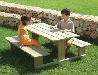 Set Robin Hood in legno ideale per parchi pubblici