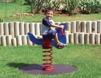Gioco a molla Foca ideale per parchi e giardini pubblici