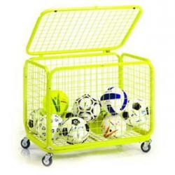 Carrello porta palloni pieghevole pesante