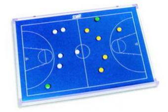 Lavagna basket magnetica