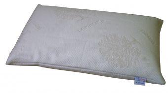 Cuscino in memory sfoderabile  con tessuto Lenpur fibra di legno