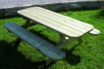 Tavolo pic nic Baby 150 cm con sedute incorporate