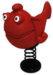 Gioco a molla pesce ( polietilene )