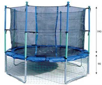 Rete di sicurezza per trampolino Olimpic