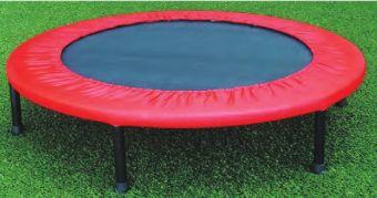 Trampolino tappeto elastico fitness cm 97 cm