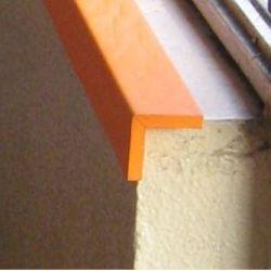 Protezione Paraspigoli atossica -Barra V sp 1cm altezza 1,5mt