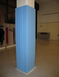 Protezione su misura per sp 15mm idonea per pareti , spigoli e pilastri
