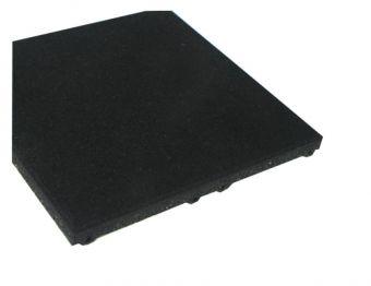 Piastrella nera drenante 1000x500x30
