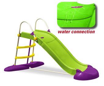 Scivolo in plastica Jumbo cm  220 con attacco dell'acqua