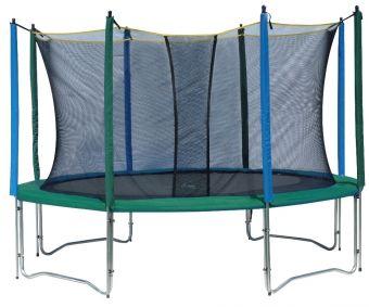 Trampolino proline Outdoor ''M' 244 cm con rete di protezione