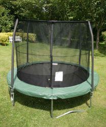 Trampolino elastico Combo cm 370 + rete protezione