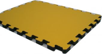 Pavimentazione antitrauma ignifuga calpestabile  98x48 spess 1 cm