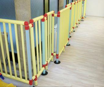 Barriera di protezione in PVC ignifugae atossica