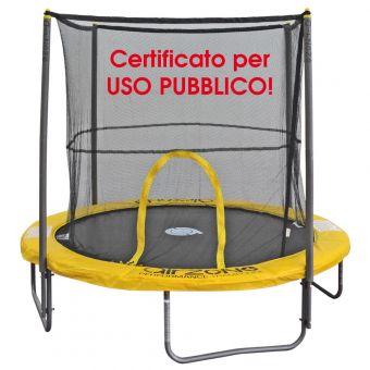 Tappeto elastico certificato pubblico Airzone 2,40 mt