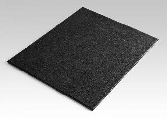 Pavimento a piastrella per Crossfit modello Virtus grana fine 50x50x2