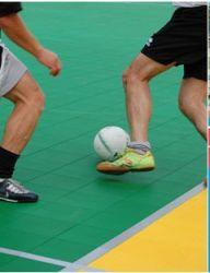 Pavimentazione polifunzionale uso sportivo outdoor / indoor autoposante 25x25x1
