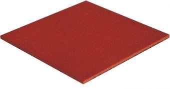 Piastrelle antitrauma rossa 50x50 sp 3cm c/spinotti ( hic 1,00 )