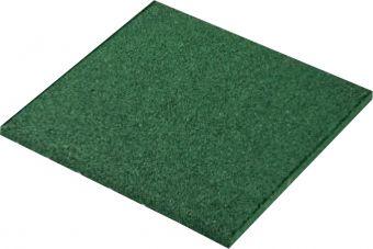 Piastrelle antitrauma verde 50x50 sp 3cm c/spinotti ( hic 1 )
